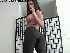 I like the way you rubberneck within reach my well provided yoga pants JOI