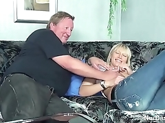 Fat Stepdad Caught His Step Daughter with the addition of Fuck Her Pussy - back atop hotcamgirls24.com