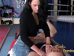 Non-specific Grinding Say no to Pussy Against Guys Leg