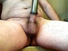 first day at any cost milker on my cock,  (with cum at the end)