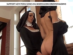 Catholic nuns licking pussies