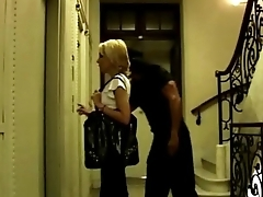 Sexy blonde obtaining robbed