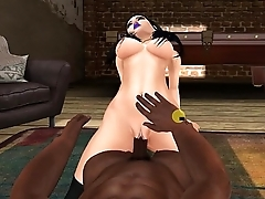 Babydoll Object Fucked By Big Black Cock