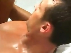 hot oiled pussy got drilled