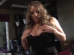 Busty Blonde Maggie Green Fucks Kelly!
