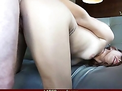 Flexible girl is picked up at the park for a quick fuck 30
