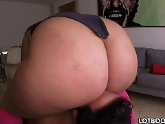 Anastasia Lux is bbw with huge tits and big fundament