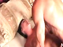 Sleeping Aunty Margo Sullivan fucked by Son..