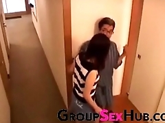 Japanese maw craves sons cock - Watch free porn videos on GroupSexHub.com