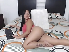 Sexy Colombian Latina Absolute Nice Ass! - WatchPornCams.com