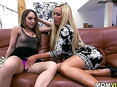 Dancing party Night 3some with Remy LaCroix together with stepmom Nikki Benz