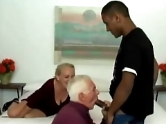Black,old man and Become man