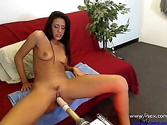 Pornstar Lyla Mugging Bear Cam Fucking Machine - more on horny-cams.net