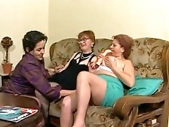 Granny BBW Ildiko Group Fucking