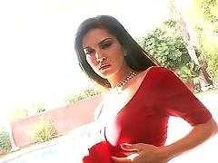 Sunny Leone Federate indian saree