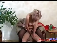 Russian mom get very horny 04