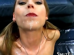 Fetish whore bukkake soak