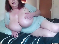 British mega busty mature Sarita